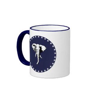 REPUBLICAN ELEPHANT RINGER COFFEE MUG