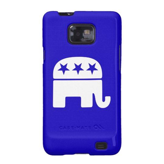Republican Elephant Samsung Galaxy Case
