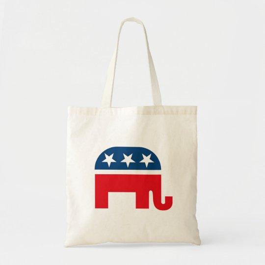 Republican Elephant Tote Bag