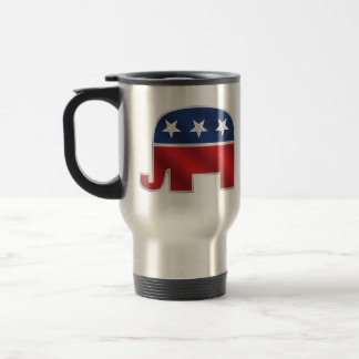 Republican Elephant Travel Mug
