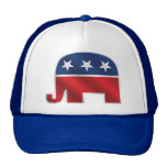 Republican Elephant Trucker Hat