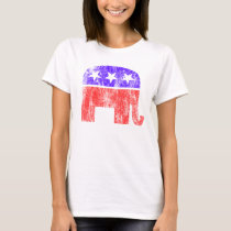 Republican Elephant Vintage T-Shirt