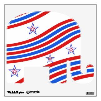 Republican  Elephant Wall Sticker