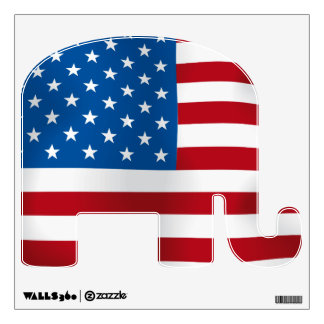 Republican Elephant Wall Skins
