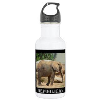 Republican Elephant Water Bottle