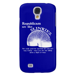 Republican Falling Down the Stairs Galaxy S4 Case