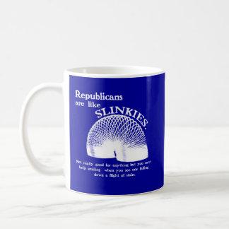 Republican Falling Down the Stairs Coffee Mug