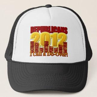 Republican Field 2012 Do Over Design Trucker Hat