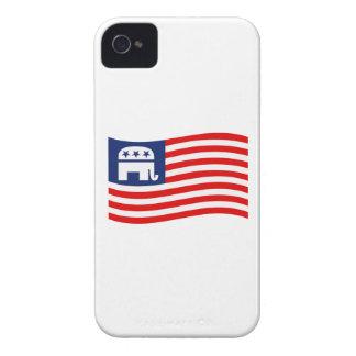 REPUBLICAN FLAG.png Case-Mate iPhone 4 Case