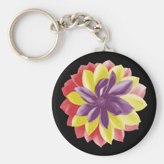 Republican flower (Spanish Republic) Keychain