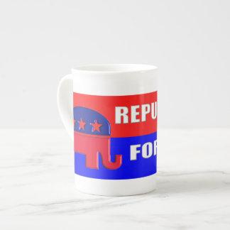 REPUBLICAN FOREVER TEA CUP