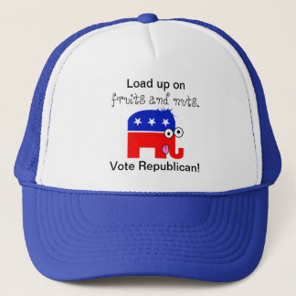 Republican Fruits and Nuts Trucker Hat