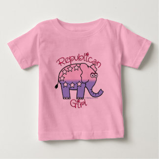 Republican Girl Baby t-shirt