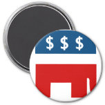 Republican Greed Fridge Magnets