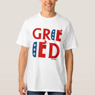 REPUBLICAN GREED - Politiclothes Humor -.png T-Shirt