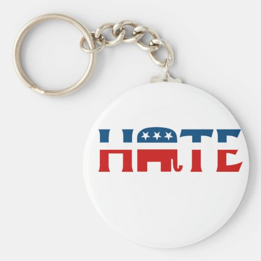 Republican Hate Keychain