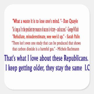 Republican I.Q. Sticker