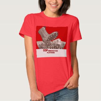 Republican Immigration Platform Shirt