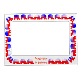 Republican In Training Magnetic Photo Frame