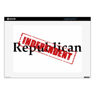 "Republican: INDEPENDENT 15"" Laptop Skin"