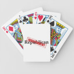 Republican: INDEPENDENT Bicycle Playing Cards