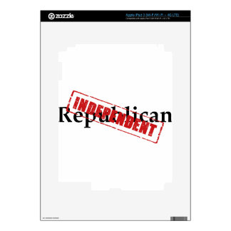 Republican: INDEPENDENT iPad 3 Skin