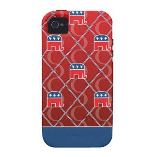 Republican - iPhone 4 / 4S Tough Cases iPhone 4 Cases