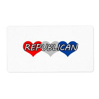 Republican Label