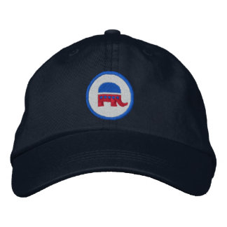 Republican Logo Embroidered Baseball Hat