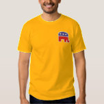 Republican Logo Embroidered T-Shirt