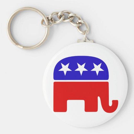 Republican Logo Keychain