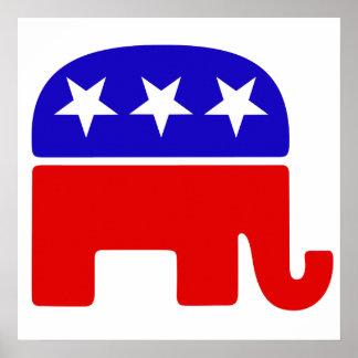 Republican Logo Print