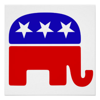 Republican Logo Poster