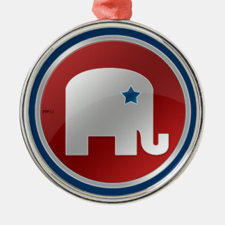 Republican Metal Ornament