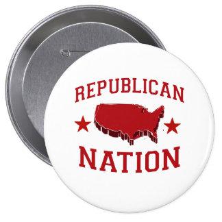 REPUBLICAN NATION PINBACK BUTTON