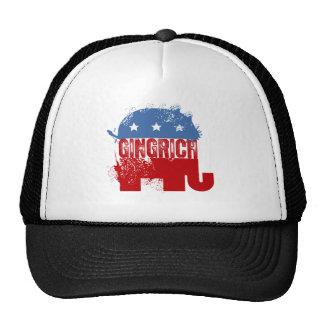 REPUBLICAN NEWT GINGRICH MESH HATS