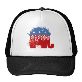 REPUBLICAN NEWT GINGRICH TRUCKER HAT