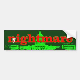 Republican Nightmare on Capitol Hill Bumper Sticker