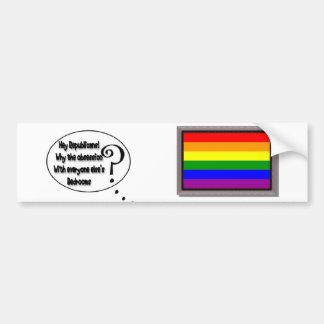 Republican Obsessions Bumper Sticker