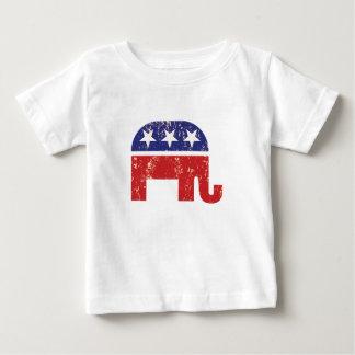 Republican Original Elephant Distressed Tan Baby T-Shirt