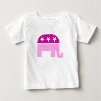 Republican Original Elephant Pink Baby T-Shirt