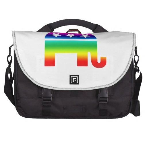 Republican Original Elephant Rainbow Bags For Laptop