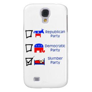 Republican Party, Democratic Party, Slumber Party Galaxy S4 Case