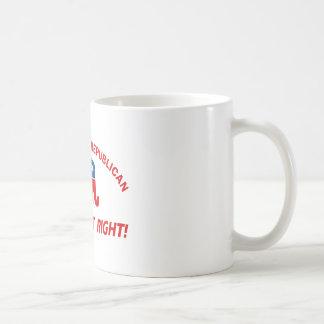 Republican party designs coffee mug