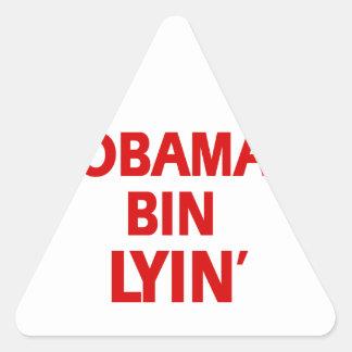 Republican party designs triangle sticker
