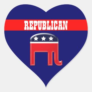 Republican party elephant mascot CUSTOMIZE Sticker