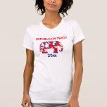 Republican party elephant mascot CUSTOMIZE T-shirts