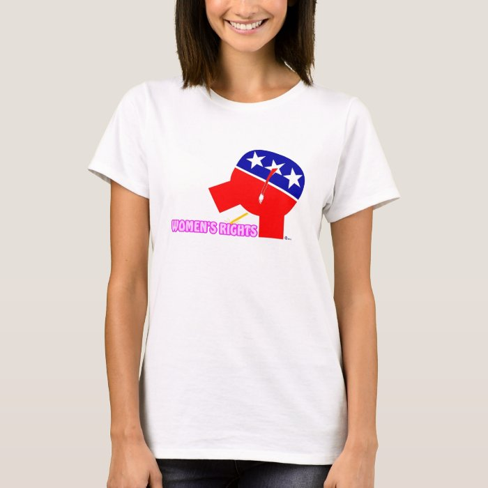 Republican Party Elephant - Women's Rights T-Shirt