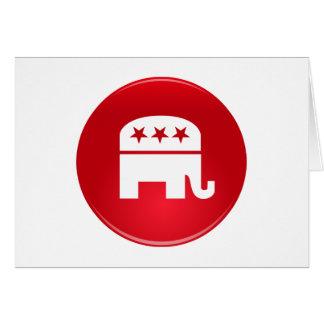 Republican Party Logo Card