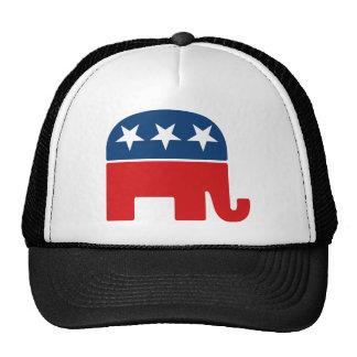 Republican Party Logo - GOP Elephant Trucker Hat